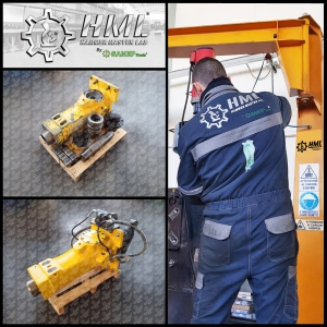 HAMMER MASTER LAB - Our new Hydraulic Hammers Repair Service Division