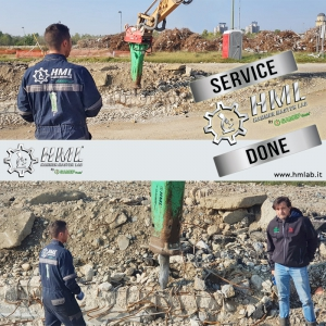 MONTABERT BRV 32 - On site hammer service