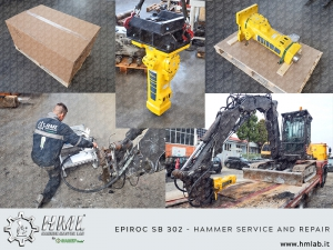 Epiroc SB302 - Hammer Service and Repair